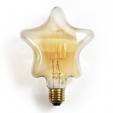 Star Shaped Edison Light Bulb