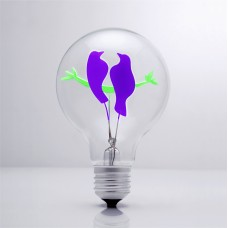 Bird Couple - DS Light Bulb