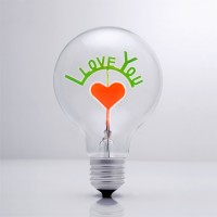 I LOVE YOU - DS Light Bulb