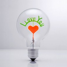 I LOVE YOU - DS Light Bulb