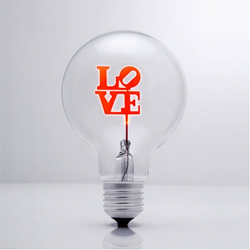 Simple LOVE - DS Light Bulb