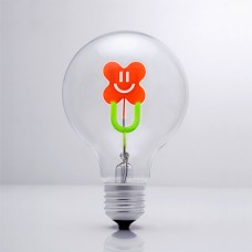 Smiley Flower - DS Light Bulb