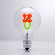 Smiley Flower - DS Light Bulb