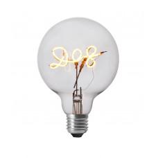 Dog LED Filament Light Bulb