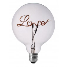Love LED Filament Light Bulb